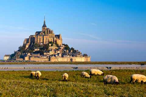View over the Mont Saint Michel