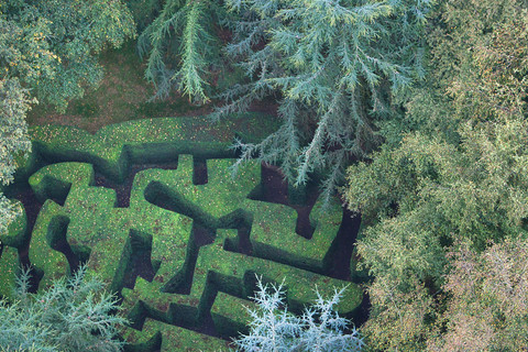 The Gardens of La Ballue's labyrinth