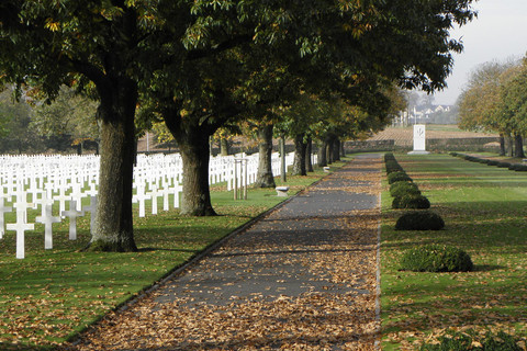American military cemetery at Saint-James