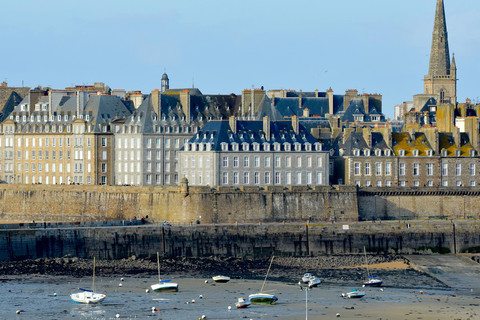The walled city of Saint-Malo